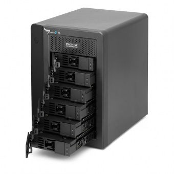Promise (HE153ZM/A) Pegasus 2 R6 with 6*3 Tb HDD Thunderbolt